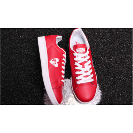 Red sneakers adidas Stan Smith W Active Red 480 | G28136