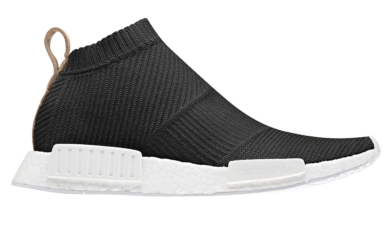 new product 7c4b4 de0cb adidas NMD CS1 City Sock Primeknit Lux Core Black