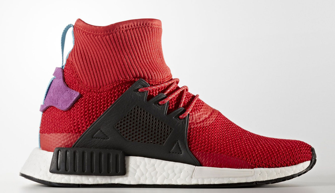 official photos 9ddfb 74042 adidas NMD XR1 Winter Scarlet Pack