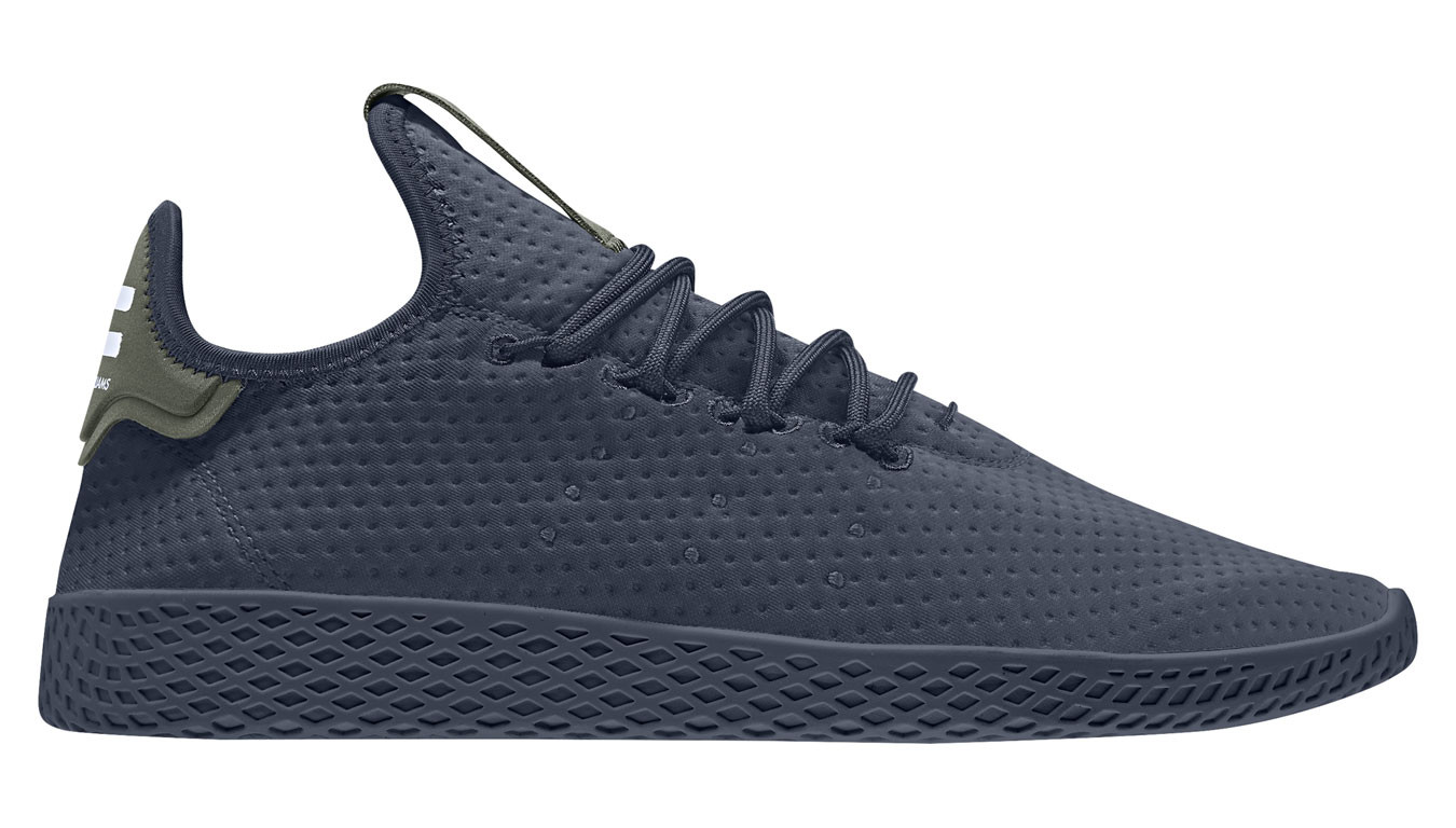 nouvelle arrivee d3406 74fbf adidas x Pharrell Williams Tennis HU Navy