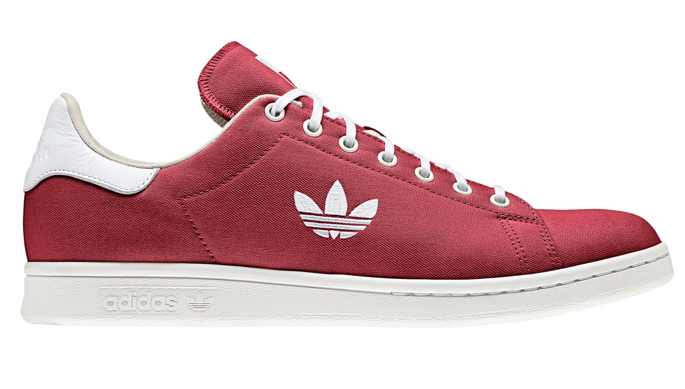 Stan Smith in WhiteRed   Red adidas shoes, Stan smith