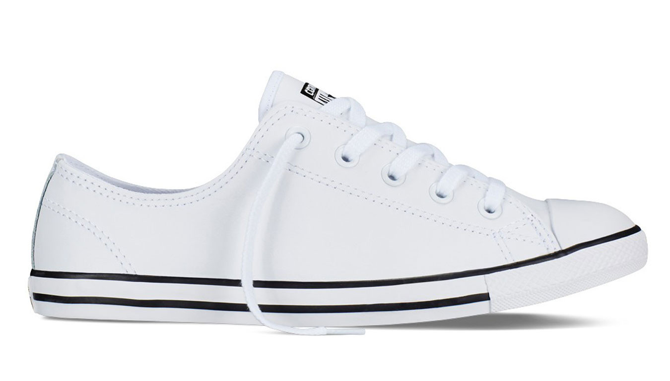 Womens Converse Chuck Taylor All Star Dainty Leather Low