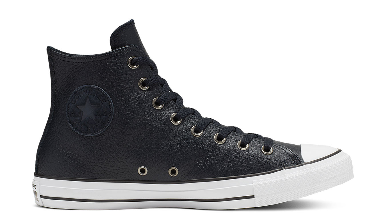 Converse Chuck Taylor All Star Leather Dark Obsidian