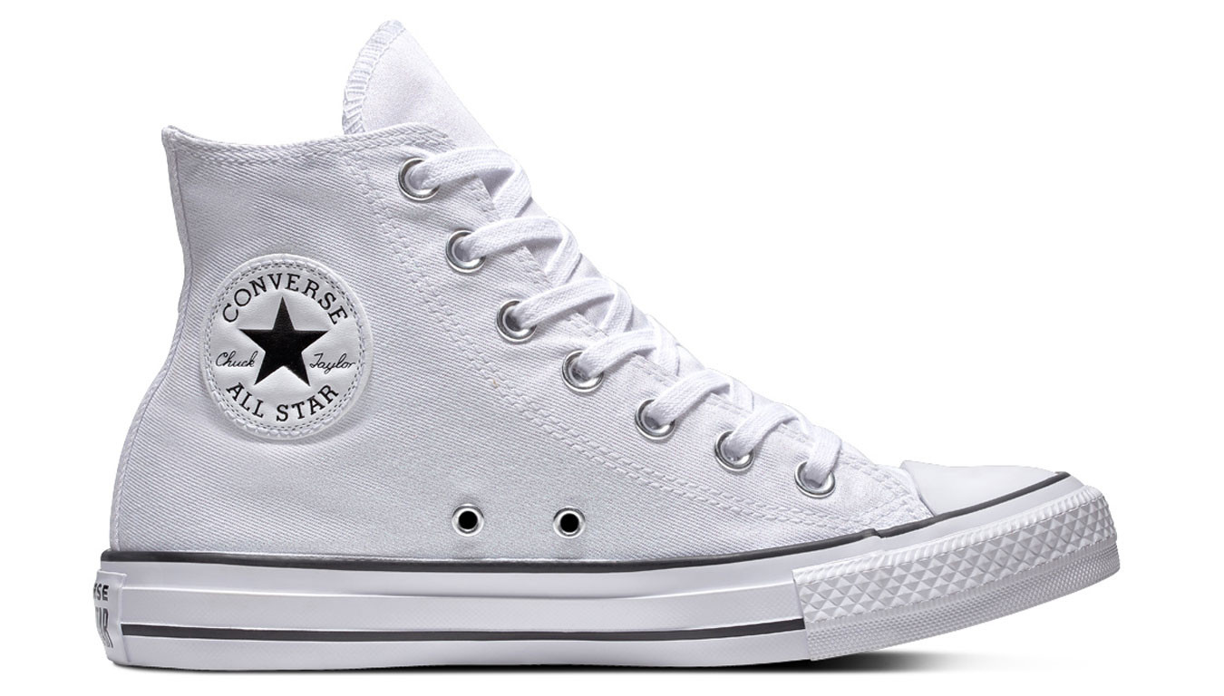 Converse Chuck Taylor All Star Rubber White Women Shoes For