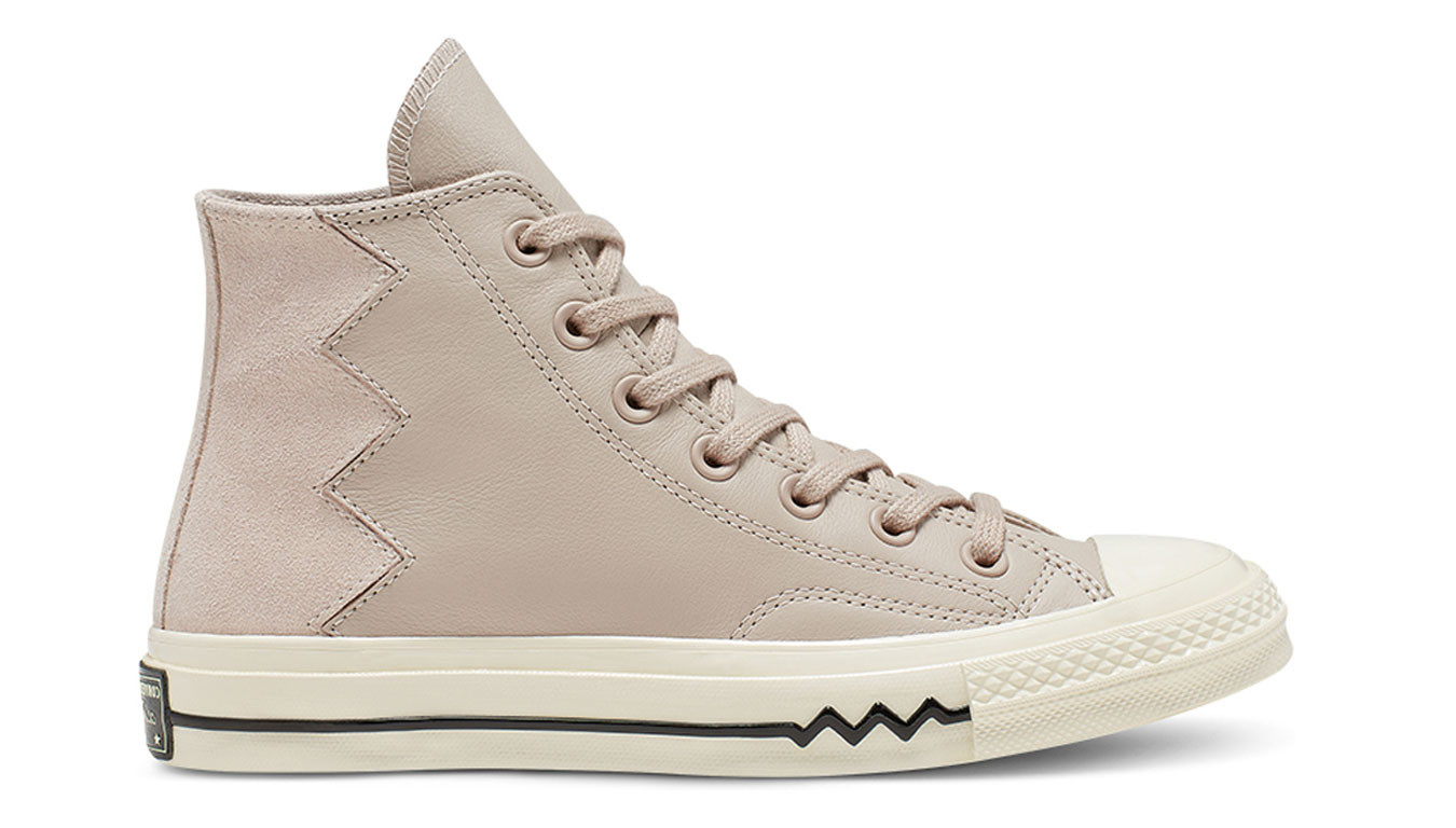 Beige Chuck Taylor '70 All Star high top sneakers