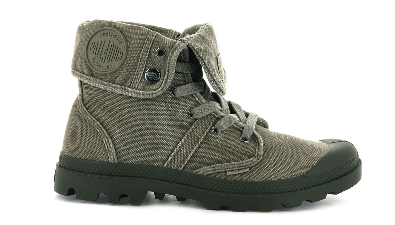 Palladium Boots Pallabrouse Baggy Dusky Green