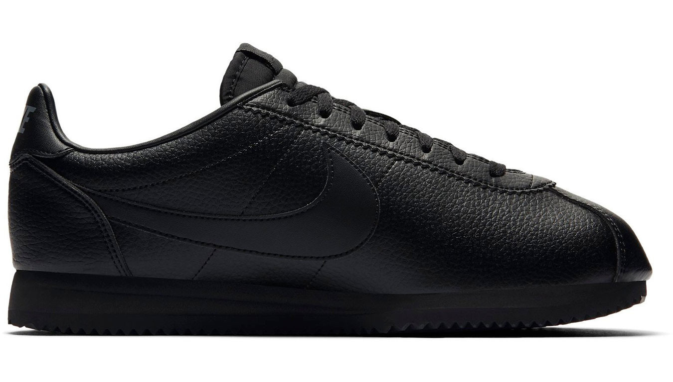 Nike Classic Cortez Leather Black Black-Anthracite 749571-002 efaef3fe42d