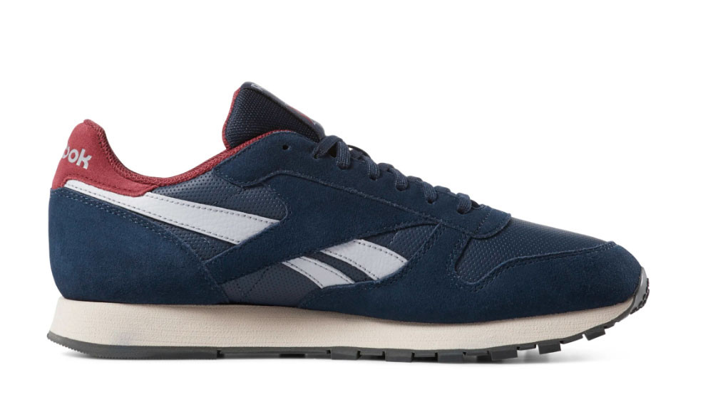 f03f875bb91f Reebok Classic Leather Navy Red CN7178
