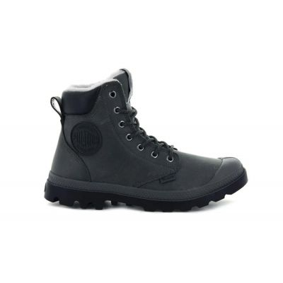 Palladium Pampa Sport Cuff WPS Dark Gull Gray