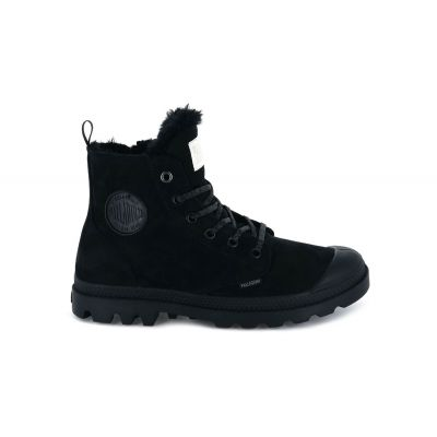 Palladium Pampa Hi Zip Wool Black