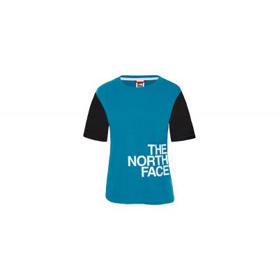 The North Face W Light Ss Tee Crystal Teal