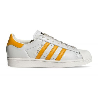 adidas Superstar Off White/Collegiate Gold/Off White