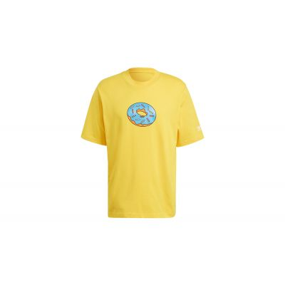 adidas x Simpsons Doh Tee Super Yellow