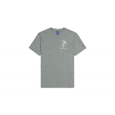 Champion Street Sports Graphic T-Shirt Grey