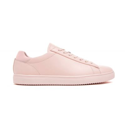 Clae Bradley Light Pink Oiled Leather