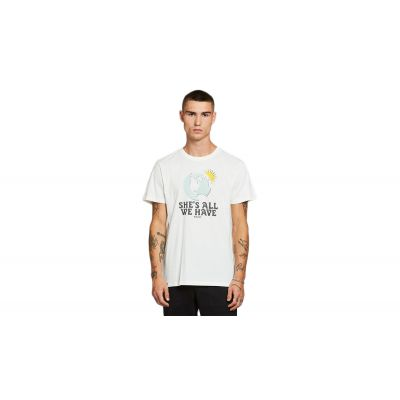 Dedicated T-shirt Stockholm All We Have Off-White