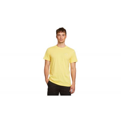 Dedicated T-shirt Stockholm Stitch Bike Yellow