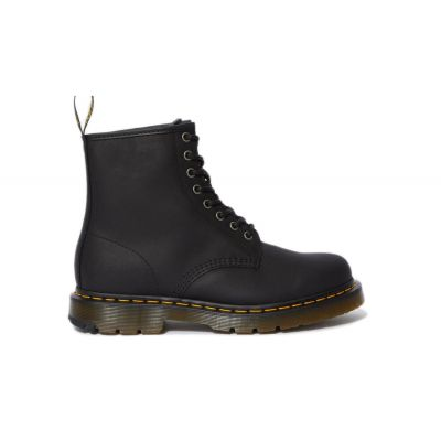Dr. Martens 1460 Winter Grip Leather Ankle Boots
