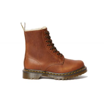 Dr. Martens 1460 Serena Faux Fur Lined Ankle Boots