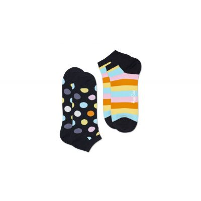 Happy Socks 2-Pack Big Dot Low Sock