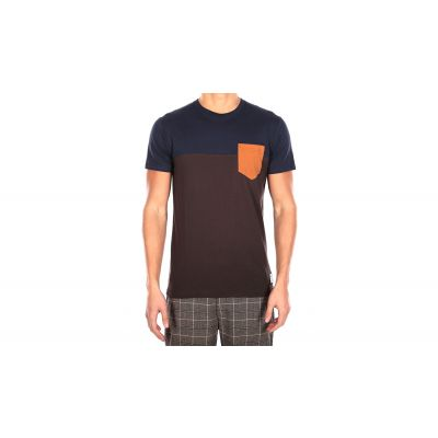 IrieDaily Block Pocket Tee Chocolate