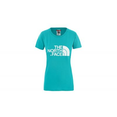 The North Face W S/S Easy Tee - Eu Jaiden Green