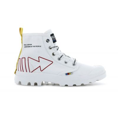Palladium Pampa Dare Rew fwd Star White