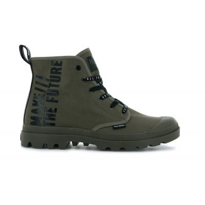 Palladium Pampa Hi Future Dusky Green