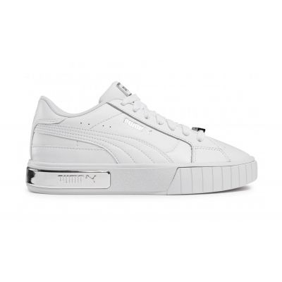 Puma Cali Star Metallic Wns White