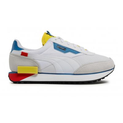 Puma Future Rider Neon Play White-Maize