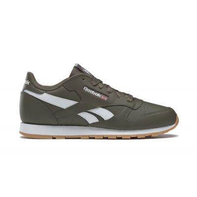 Reebok Classic Leather Army Green White