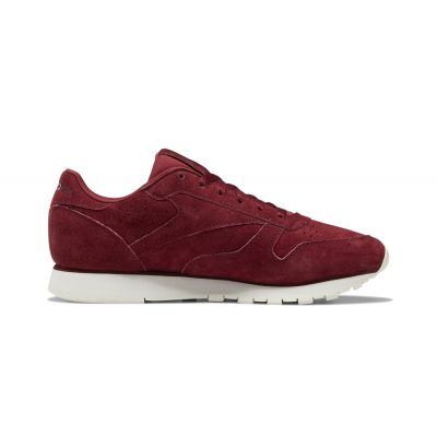 Reebok Classic Leather Maroon Chalk