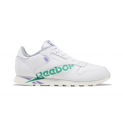Reebok Classic Leather White Emerald Grape