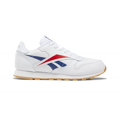 Reebok Classic Leather White Scarle Phablu