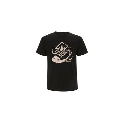 Shooos Earth positive Black T-Shirt Limited Edition