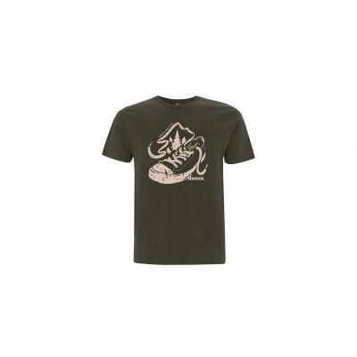 Shooos Earth positive Olive T-Shirt Limited Edition