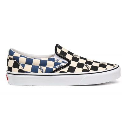 Vans Ua Classic Slip-On (Big Check) Black/Navy
