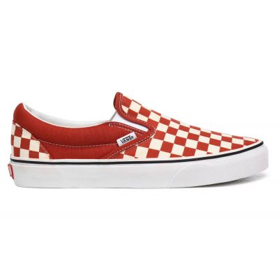 Vans Ua Classic Slip-On (Checkerboard)Picnt/Trwht