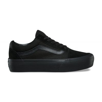 Vans Ua Old Skool Platform Black Black