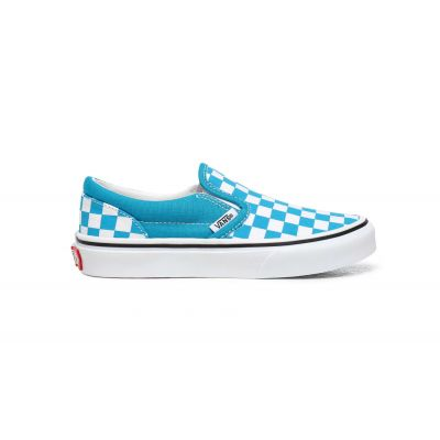 Vans Uy Classic Slip-On (Checkerboard) Kids