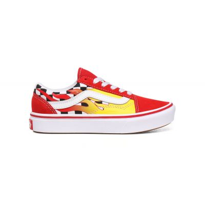Vans Uy Comfycush Old Skool (Flame) Kids