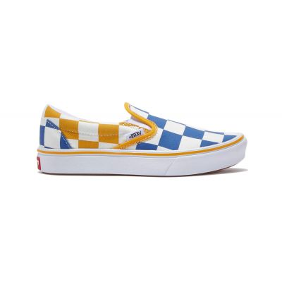 Vans Uy Comfycush Slip-On (Big Checker) Kids