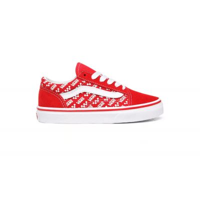 Vans Uy Old Skool (Logo Repeat) Kids