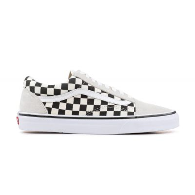 Vans Ua Old Skool (Checkerboard)Wht/Blk