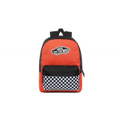 Vans Wm Realm Backpack Paprika/Checkerboard