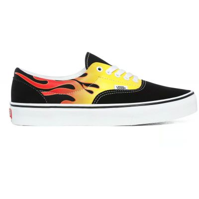 Vans Ua Era (Flame) Black/True White
