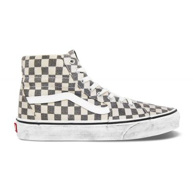 Vans Ua Sk8-Hi Tapered (Washed) Asphalt/True Wht